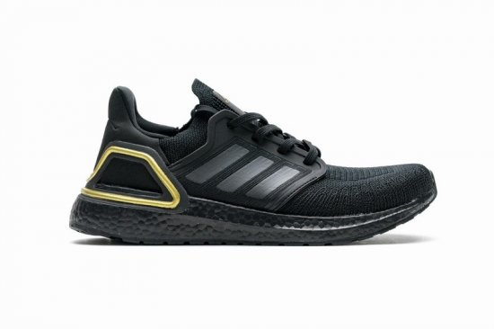 adidas Ultra Boost 20 Core Black Gold Metallic